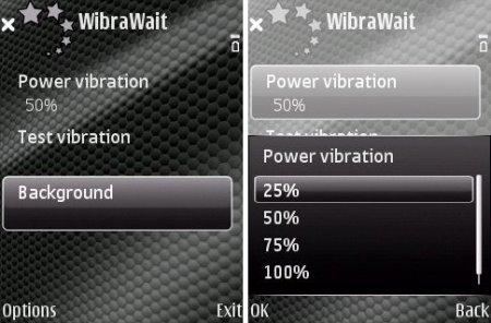 WibraWait v1.10 для Symbian 9.xx S60 Nokia