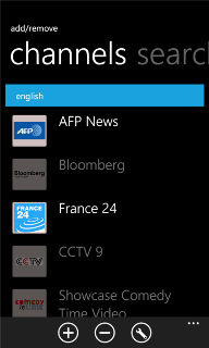 SPB TV v.2.2.0.0 Windows Phone