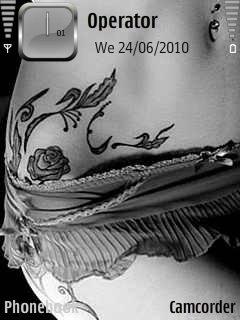 тема Tatto для Nokia