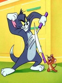 Картинка Tom and Jerry 240x320