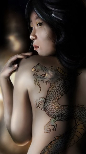 Girl with the Dragon Tattoo 360x640