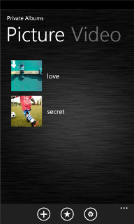 Private Photo v.3.1.0.0 для Windows Phone 7 и 8
