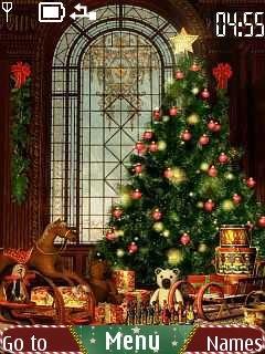 Тема Christmas для Нокиа бесплатно