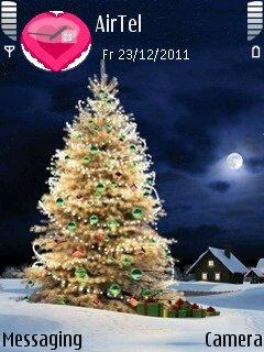 Тема Merry Christmas для Nokia