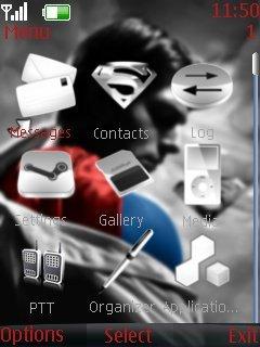 Тема Superman Returns для Nokia