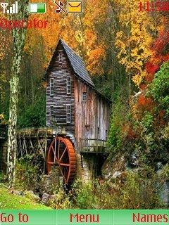 Тема Красивый домик (Nice House) на телефон