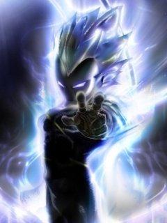 Картинка Vegeta power 240x320 для Нокиа