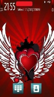 Тема Valentine для Нокиа Symbian 9.4 бесплатно