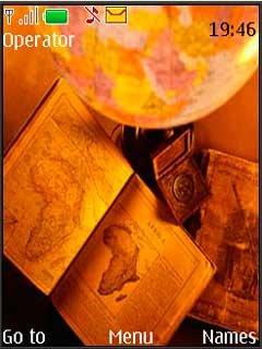 Тема древние путешествия (Ancient Travels) для Nokia