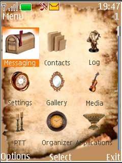 Тема древние путешествия (Ancient Travels) для Nokia скачать