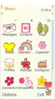 Тема Любите растения (Love The Plants) на смартфон Nokia