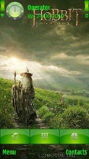 Тема The hobbit для смартфона Nokia на Symbian 9.4 скачать