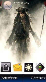 Тема Пираты Карибского моря для Symbian 9.4 Nokia