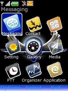 Тема Bmw Exclusive для телефона Nokia