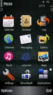 Тема темнота (Darkness) для Nokia бесплатно