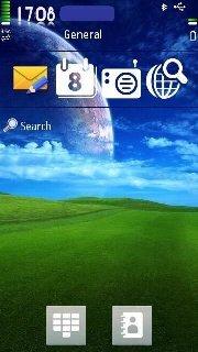 Тема Земля на телефон Нокиа - Symbian 9.4