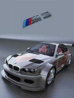 Тема BMW M3 на телефон Нокиа