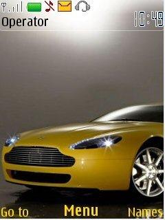 Тема Aston Martin для телефона Nokia