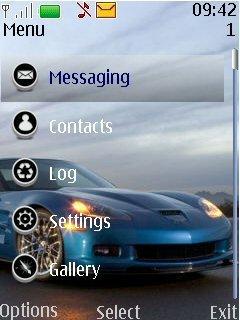 Тема на телефон Нокиа Chevrolet Corvette ZR1 загрузить
