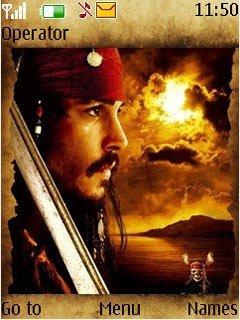 Тема Джек Воробей (Jack Sparrow) для Нокиа