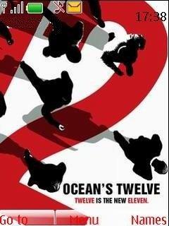 Тема Двенадцать друзей Оушена (Oceans 12) для Нокиа