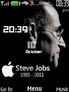 Тема Стив Джобс (Steve Jobs), Apple для Nokia