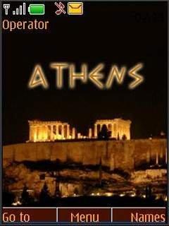 Тема Афины (Athens) для телефона