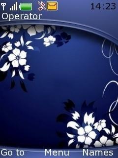 Темно-синяя абстракция (Dark Blue Abstract)