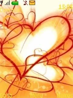 Тема много сердец (many hearts)