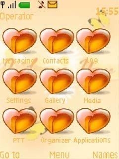 Тема много сердец (many hearts) бесплатно