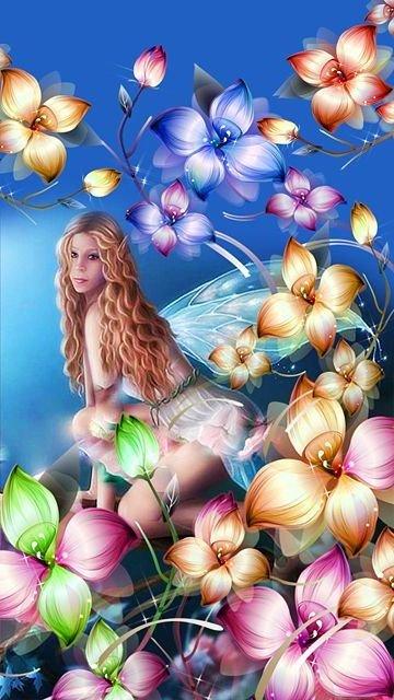Картинка Фея (Fairy) 360x640 для Нокиа