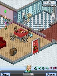 Симс 3: Зимняя версия (The Sims 3: Winter edition) для Nokia