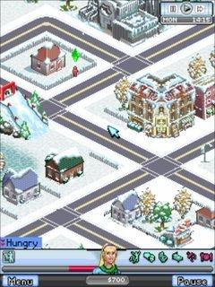 Симс 3: Зимняя версия (The Sims 3: Winter edition) для Нокиа