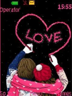 Тема настоящая любовь (true love) для Нокиа