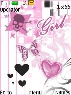 картинки для девочек на заставку на телефон