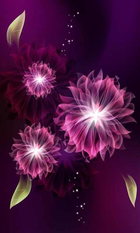 картинки абстрактные цветы: