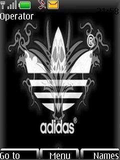 Тема логотип Адидас (Adidas logo)