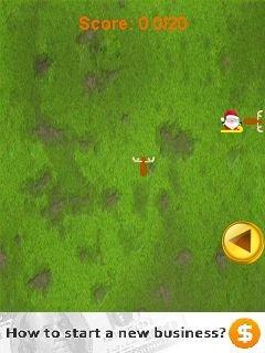 Игра Санта-змейка (Santa snake) на телефон