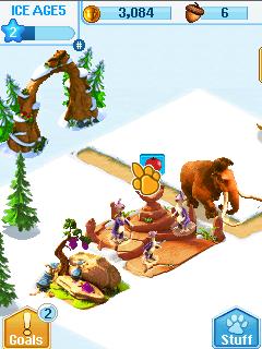 Игра Деревня ледникового периода (Ice age village) для телефона