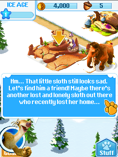 Игра Деревня ледникового периода (Ice age village) бесплатно