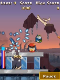 Игра Злые птицы: Звездные войны 2 (Angry birds: Star wars 2) для Нокиа
