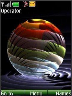 Тема абстрактная сфера (Abstract Sphere)