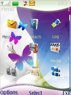 Абстрактная тема (Abstract theme) на телефон