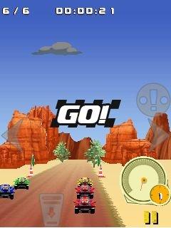 Игра гонки на багги 4x4 по внедорожью (4x4 Buggy off-road racing) на сенсорный телефон