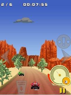 Игра гонки на багги 4x4 по внедорожью (4x4 Buggy off-road racing) на телефон