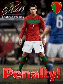 Игра Пенальти Криштиану Роналду 3D (Penalty Cristiano Ronaldo 3D) для Нокиа