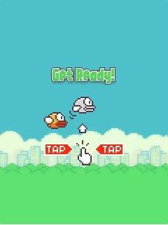 Игра Летящая птица (Flappy bird) скачать