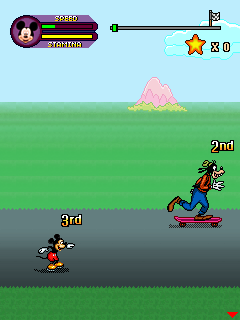Игра Mickey & friends: Skating frenzy для телефона