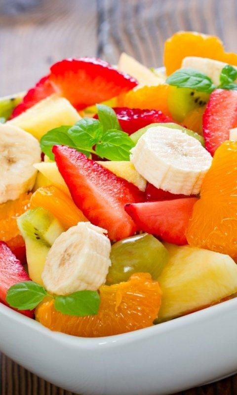 Картинка fruit salad 480x800