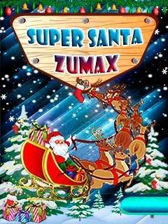 Игра Super Santa Zumax